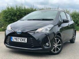 image for 2018 Toyota Yaris 1.5 VVT-h Icon Tech E-CVT (s/s) 5dr Hatchback Petrol/Electric