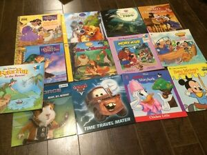 Lot of 13 Disney Softcover Kids Books - Great condition!