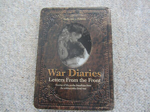 War Diaires - Letters From The Front Collector's Edition on DVD Kitchener / Waterloo Kitchener Area image 1