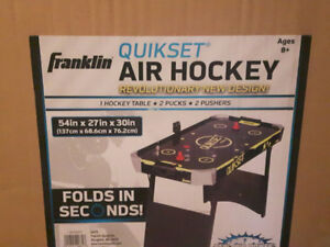 New Franklin Sports 54-inch Quikset Air Hockey Table