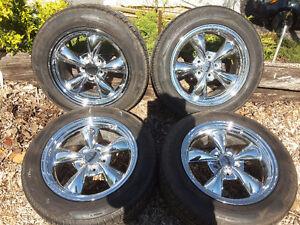 CS4 Cooper Touring Tires on Chrome Mag Rims