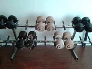 COMMERCIAL DUMBBELL RACK (trade or sale) - $250