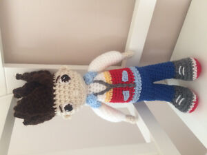 Hand crocheted Ryder inspired stuffie