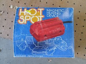 Magnetic Oil Pan Heater - New