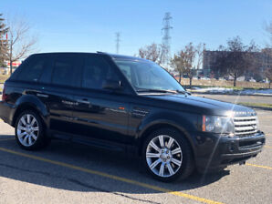 2008 Range Rover supercharged. All services up to date