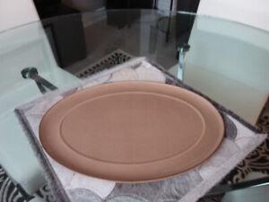 Denby Energy Cinnamon Serving Platter