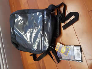 Gas tank bag with map holder