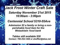 Jack Frost Winter Craft Sale