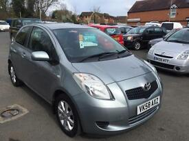 Toyota Yaris 1.0 VVT-i TR 76k FSH AN IDEAL FIRST TIME CAR. LOW INSURANCE