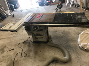 Craftex table saw 5hp 10 inch slider