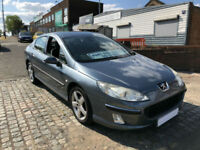 2004 PEUGEOT 407 2.0 HDi DIESEL 136 ( CHEAP PART EXCHANGE TO CLEAR )