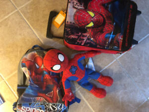 Spider-Man costumes and toys