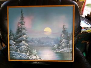 Vintage K. Horden Original Oil Painting