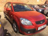 2007 Kia Rio 1.4 LS Red Mot Jan 19 1 owner