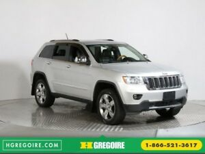 2012 Jeep Grand Cherokee Overland 4WD CUIR TOIT NAVIGATION MAGS