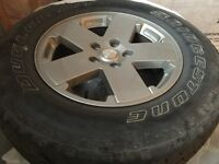 "18"" Jeep Rims & Tires"