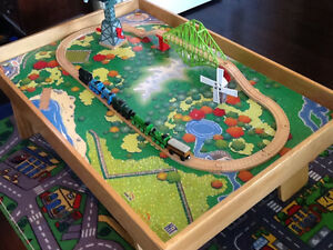 Custom Made Train Table with Authentic Thomas Train and Track Stratford Kitchener Area image 8