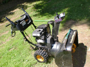 Poulan Pro 24/6 Snowblower, electric start, fully seviced