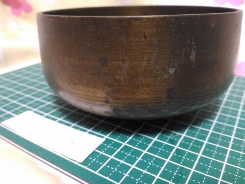 "BIG ""4.193"" Japanese Vintage Buddhist Bell G506 Very Rare"