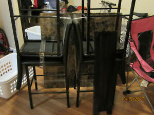 Barely used Square Dining table ready to go