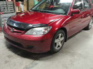 '05 Honda Civic SI 4 Door body parts