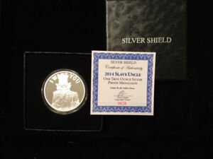 2014 Silver Shield Slave Uncle 1 oz  Silver