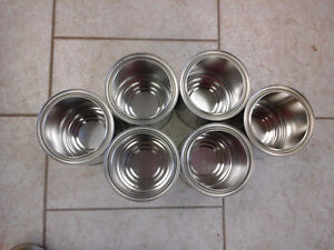 NEW paint cans with lids