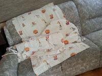 Ensemble literie bassinette / contour lit bébé