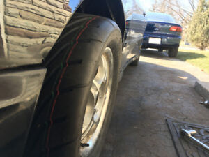 (2) Toyo Proxes R888 225/50R14 on 14s