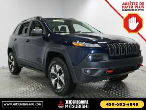2016 Jeep Cherokee INSPECTÉ,TRAILHAWK,4X4,V6,CAMERA,*TOW PACKAGE