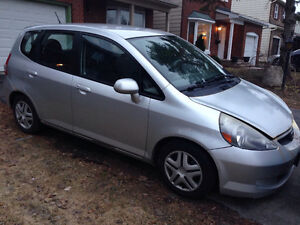 2007 Honda Fit Hatchback AS-IS