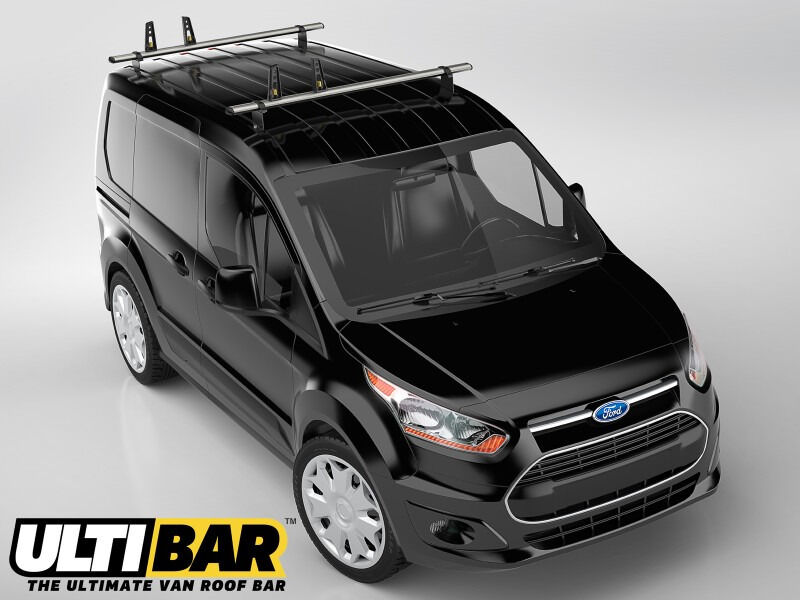 Ford Transit Connect Van Roof Bars 2014 To 2017 Lwb