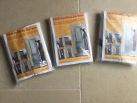 Protective dust sheet for doors