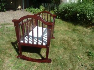 BABY CRADLE cherry solid wood