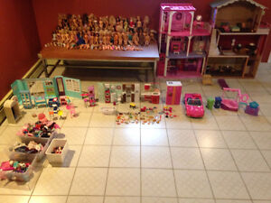 Huge Barbie Collection!