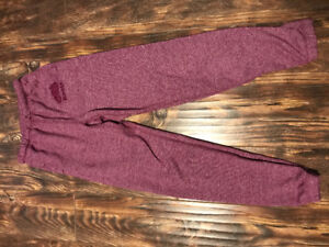 Purple/pink Roots pants womens