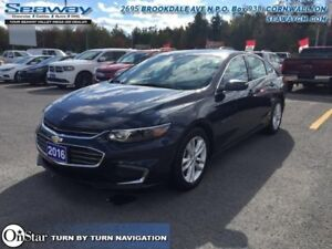 2016 Chevrolet Malibu LT  - out of province - Power Seat - $124.