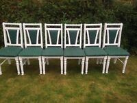 X6 dining chairs