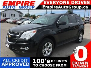 2013 CHEVROLET EQUINOX LT * LEATHER * BACKUP CAMERA * USB * BLUE