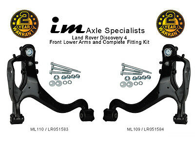 For Land Rover Discovery 4 Front Lower Suspension Control Arm Kit+Fittings