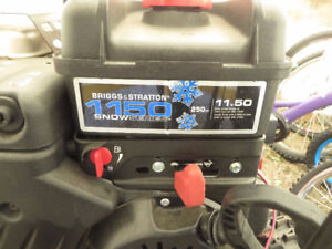 "27"" Dual Stage 250cc Briggs & Stratton Snowblower for sale!"
