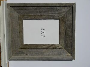 "Barnwood picture frame, 5"" X 7"""