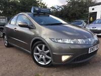 2007 Honda Civic 1.8i-VTEC AUTO i-Shift EX Panoramic Roof Sat-Nav Xenons