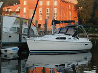 2003 Hunter 306 Sailboat