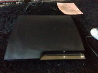 PS3 slim plus 12 games