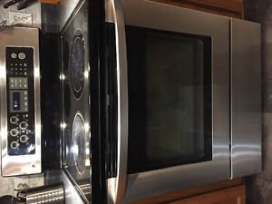LG electric stove