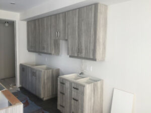 Brand new custom Barzotti kitchen cabinets for sale