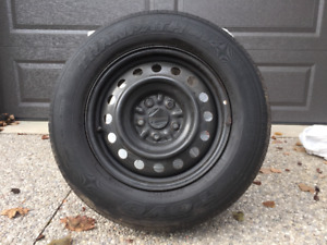 FOUR TOYO 215/70R16 TIRES WITH RIMS