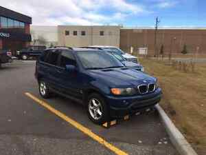 Mint 2003 BMW x5 loaded DVD etc