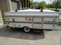 For Sale , 2000 Viking Hard Top Tent Trailer -8' box